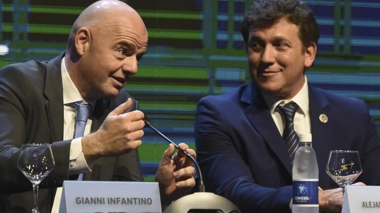 Sin definición, hay cuarto intermedio entre Conmebol y FIFA por la fecha de Eliminatorias