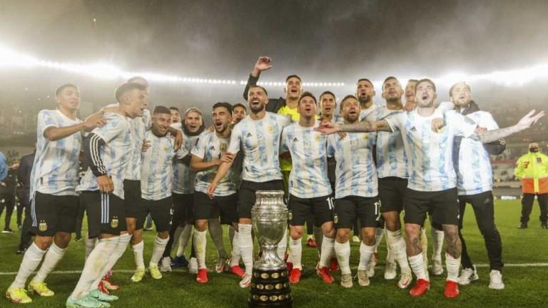 La Selección argentina continúa en la sexta posición del ranking FIFA