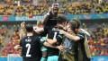 Austria obtuvo su primera victoria en una Eurocopa al derrotar a Macedonia