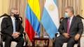 Alberto Fernández se reunió en Lima con Duque para reforzar el lazo bilateral con Colombia