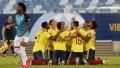Un golazo de tiro libre de Cardona le dio el triunfo a Colombia ante Ecuador