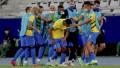 A paso firme, Brasil goleó 4 a 0 al Perú del