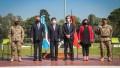 El Presidente a su regeso de México encabeza el homenaje de nacimiento del general San Martín
