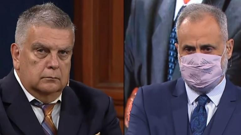 Jorge Rial y Luis Ventura se reencontraron en televisión
