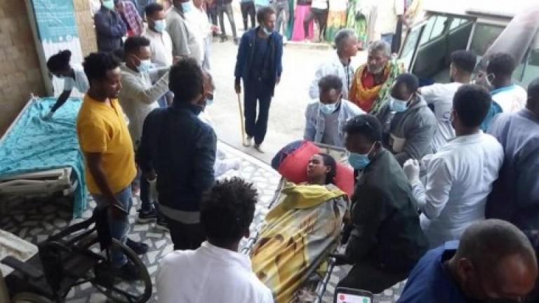 Un ataque aéreo contra un mercado deja al menos 64 muertos en Etiopía