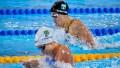 Julia Sebastián se quedó fuera de la carrera por medallas en los 100m pecho de natación