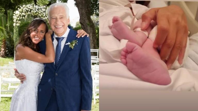 Alberto Cormillot fue papá a los 83 años: nació Emilio, su hijo con Estefanía Pasquini