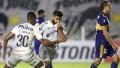 Boca fue de mayor a menor y perdió con Santos 1 a 0