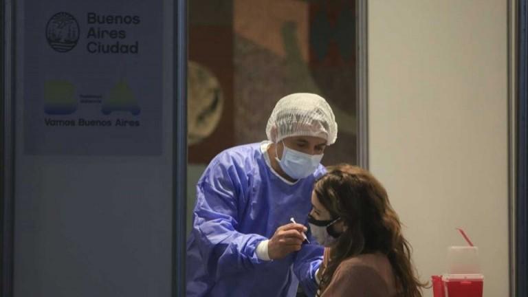 Reportaron 249 muertes por Covid y 16.757 contagios en las últimas 24 horas