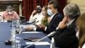 Massa recibe a sindicalistas para apurar el tratamiento de la suba del piso de Ganancias