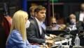 Con críticas a la oposición, Kicillof inauguró las sesiones ordinarias en la Legislatura provincial