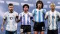La FIFA eligió a los jugadores más emblemáticos de la historia de la Selección argentina: ¿Estás de acuerdo?