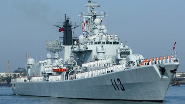 China comienza unos ejercicios con fuego real cerca de Taiwán